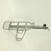 Багажник для велосипеда (задний, серый, без пружинной фиксации)