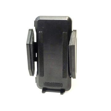 Универсальный держатель смартфонов для велосипедов (пластик, черный, боковое крепление)