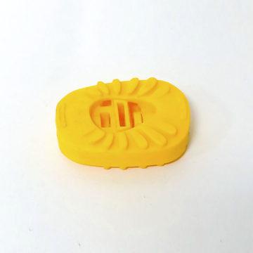 Педали для детского велосипеда (пластик, желтые)